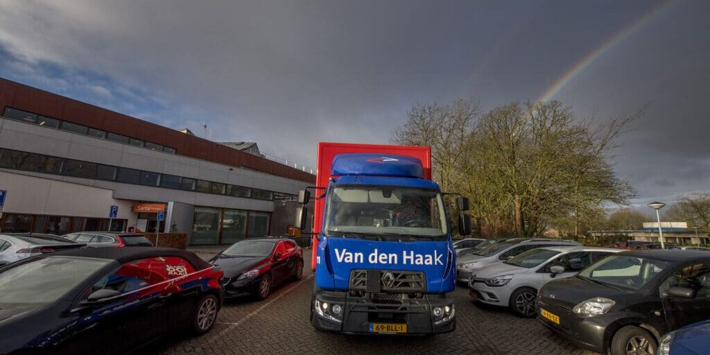 Geldermalsen 02/12/2019 Reportage Van den Haak Transport foto Raphael Drent